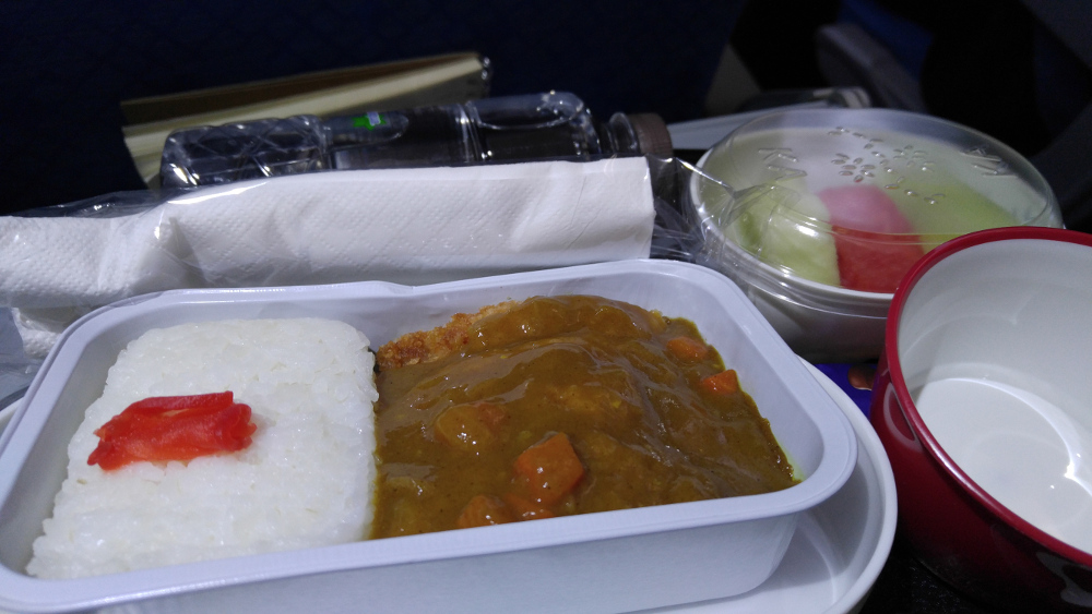 Japanese Curry in Dragon Air