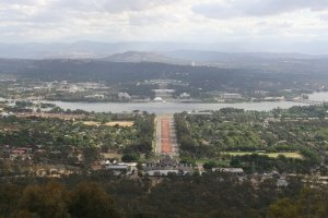 Panoramic View of Canberra