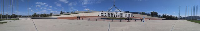 Parliament House-panoramic view