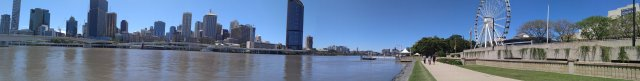 Brisbane City Pano View